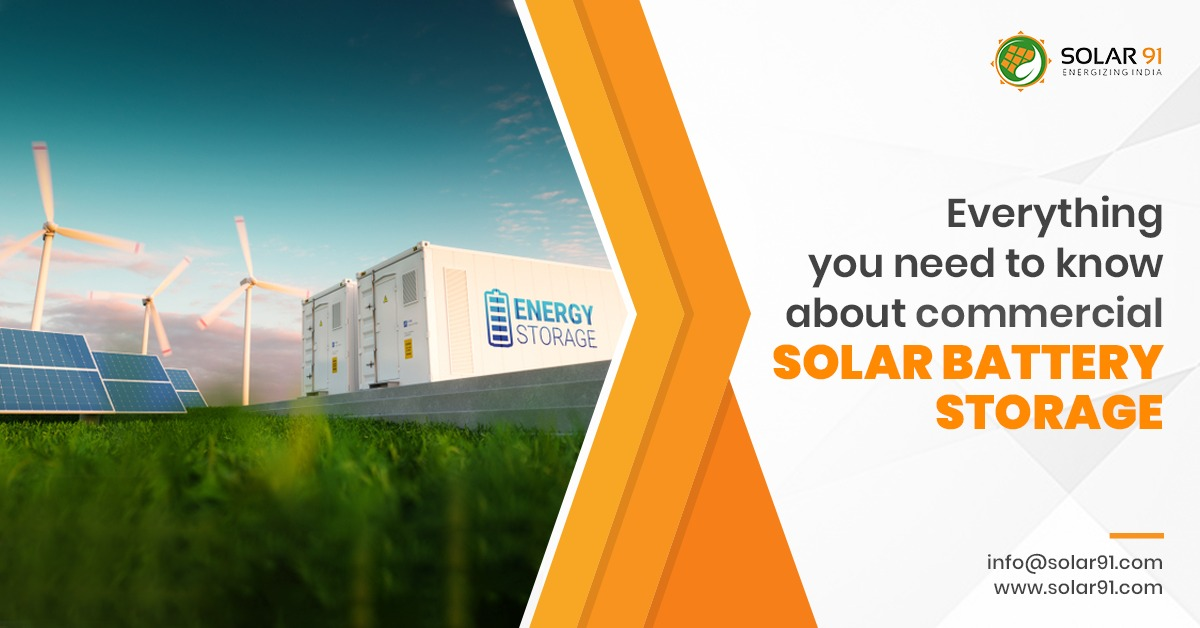 Everything you need to know about commercial solar battery storage
