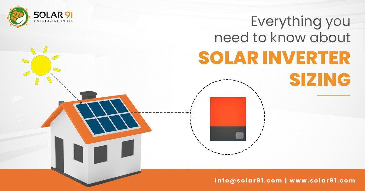 Everything you need to know about Solar Inverter Sizing
